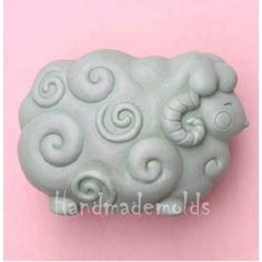 Sheep  S093 Craft Art Silicone Soap mold Craft Molds DIY Handmade soap molds