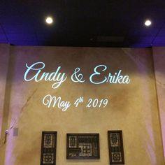 Projected a custom ** motion ** monogram above the dance floor last night. Wedding Dj, Wedding Ideas, Last Night, Monogram, Neon Signs, Floor, Dance, Projects, Instagram