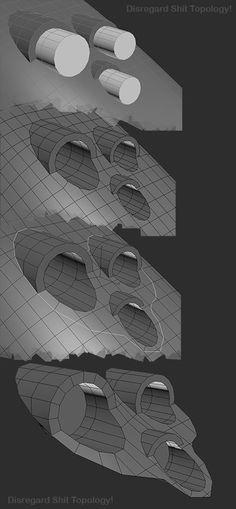 FAQ: How u model dem shapes? Hands-on mini-tuts for mechanical sub-d AKA ADD MORE GEO - Page 182 - Polycount Forum: