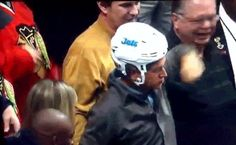Hammered Drunk Hockey Fan Steals Player's Helmet, Loses Beer - BuzzFeed