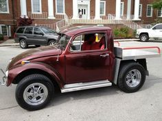 1961 Custom Volkswagen Beetle Bug Truck Thing Volkswagon One of a Kind VW Bus, image 1