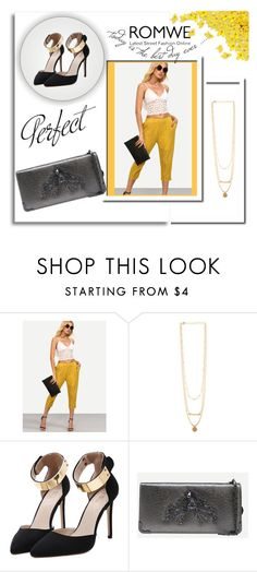"""""""ROMWE 12/8"""" by melissa995 ❤ liked on Polyvore"""