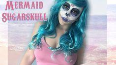 Mermaid Sugarskull : MAKEUP TUTORIAL