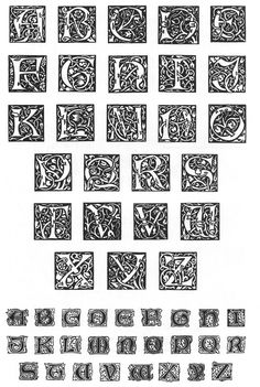WilliamMorris-Initials