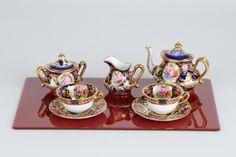 Miniature tea set Crown Staffordshire