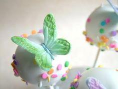 butterflies on pops