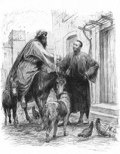Eugène Burnand |The Good Samaritan