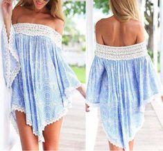 Sexy lace stitching Print dress SF82804JL