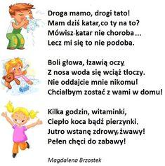 Polish Language, Motto, Kindergarten, Humor, Education, Crafts, Speech Language Therapy, Tips And Tricks, Manualidades