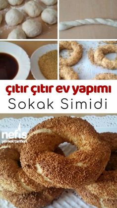 Crispy Crispy Homemade Street Wheel Recipe how to make? Baby Food Recipes, Cookie Recipes, Turkish Recipes, Sweet And Salty, Bread Baking, Pain, Bagel, Brunch, Food And Drink