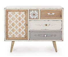 Aurelie One Szekrényke - Vivre. Buffet Original, Nightstand, Dresser, Cabinet, Storage, Furniture, Vintage, Home Decor, Products