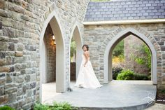 Numerous cathedrals arches along the breezeway allow for capturing stunning photos.  Outdoor Event Venue, Luray, TN castlepinesfarm.com  #castlepinestn