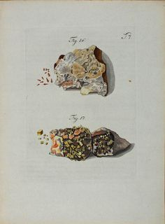 Wulfen, Franz Xavier (1791) Mineralogy, Rocks And Gems, Natural Forms, Weird And Wonderful, Raw Materials, Gems And Minerals, Science And Nature, Jewelry Branding, Natural History