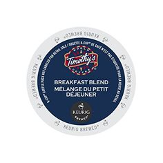 Timothys World Coffee Breakfast Blend for Keurig Brewers 2 Boxes x 24 KCups * For more information, visit image affiliate link Amazon.com