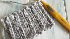 How To: Crochet looks like knitting with half double crochet in rows / C...