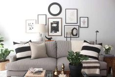 Bedroom Makeover Deets, Neutral-Loving Inspiration, & My Thanksgiving Table Wish List - Driven by Decor Decor, Fall Decor Inspiration, Room, Black And White Decor, Driven By Decor, Home Decor, Home And Living, Coastal Living Rooms, Home Living Room