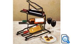 Metal wine rack will be a hassle for you if you want to make by your own selves. It will be easier to buy the wine rack at the trusted furniture shop. Metal Welding, Welding Art, Bottle Rack, Wine Bottle Holders, Metal Projects, Welding Projects, Welding Crafts, Welding Ideas, Burglar Bars
