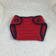 Crochet Diaper Cover Handmade The Patriot by ForLittlePaws Awesome baby shower gift