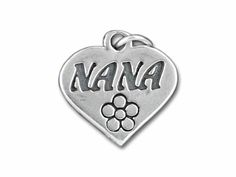 Sterling Silver Nana Heart Charm/9.99