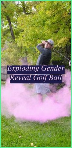 Exploding Gender Reveal Golf Ball   Golf Gender Reveal   Golf Themed Centerpieces   Golf Event Themes   Golf Birthday Party Invitations. Whether you like playing golf or enjoying golf, a golfing style party is a swinging celebration for fans of all ages. #golfparty #photography ideas