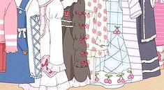 The perfect Clothes New Shopping Animated GIF for your conversation. Discover and Share the best GIFs on Tenor. Pastel Fashion, Kawaii Fashion, Lolita Fashion, Gif Animé, Animated Gif, Wattpad, Akatsuki, Cute Gifs, Casa Anime