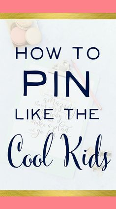 """Oh my goodness - loved this! Finally someone says what we're all thinking... how do you become a cool kid on Pinterest and have your account take off. Awesome Pinterest Marketing Tips here and I'm off to start pinning like a """"cool kid"""" :) 