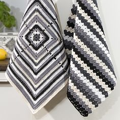 Mönster: Virkade handdukar