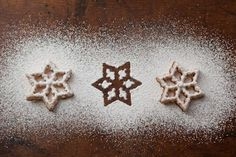 Scandinavian Rosettes are Norwegian or Swedish Christmas Cookies that are made with a traditional rosette iron, which is dipped in batter and deep fried. Chocolate Christmas Cookies, Christmas Treats, Christmas Baking, Christmas Time, Christmas Goodies, Xmas, Polish Christmas, Christmas Candy, Holiday Treats