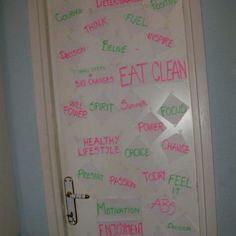 Motivation Door From Lisa-Marie BodyRock.tv