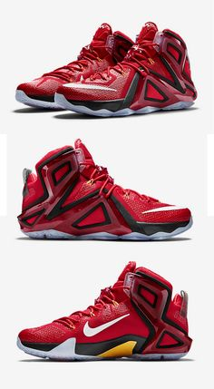 d3b9110fab55 Nike Lebron XII Elite Red