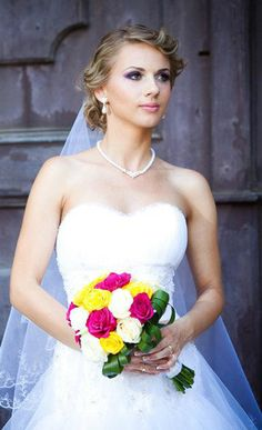beautiful A-line wedding dress on www.rochiidemireasacustil.ro