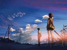 9 Essential Anime Movies That Aren't Made by Studio Ghibli Kimi No Na Wa, Aesthetic Desktop Wallpaper, Anime Scenery Wallpaper, Laptop Wallpaper, Hd Wallpaper, Laptop Backgrounds, Windows Wallpaper, Summer Wallpaper, Hd Anime Wallpapers