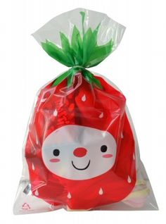 Leuk voor traktaties Strawberry bags 15 stks | PSikhouvanjou