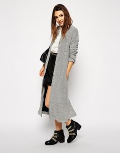 ASOS+Maxi+Jacket+in+Longline+and+Texture $42.00