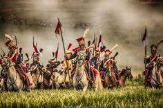 Nice portrait of French Guard Polish lancers reenactors at the 2015 200th anniversary of Waterloo. (Константин Охота | ВКонтакте)