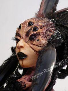 Virginie Ropars__Black Widow... Spider