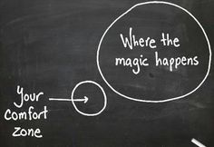Step out of your comfort zone & experience the magic zone! - http://HoneyTrek.com/TripCoach