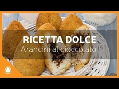 """ARANCINI DOLCI """"Cioccolato & Ricotta"""" - Ricetta Arancinotto - YouTube"""