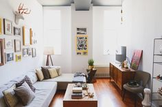 Homepolish Design | Small Space Living | Brooklyn