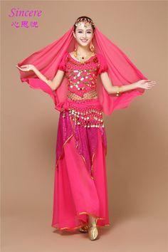 Performance sur scène Bollywood Indian costume danse du ventre Costumes Maxi jupe Hipscarf chaîne de taille 6 couleurs dans Danse du ventre de Nouveauté et une utilisation particulière sur AliExpress.com   Alibaba Group
