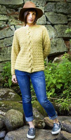 Brick wall waterfall pullover - Knitty.com - Deep Fall 2015 - free