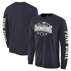 Penn State Nittany Lions Fanatics Branded 2016 Big Ten Football Champions Long Sleeve T-Shirt - Navy