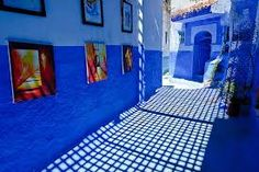 blue city morocco - Google Search