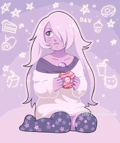 Amethyst and Donut