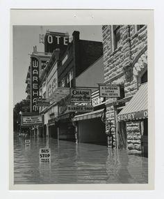 1951 flood scenes in Manhattan, Kansas - 1 - Kansas Memory State Of Kansas, Kansas City, Manhattan Kansas, Interesting History, Interesting Facts, Land Of Oz, Home On The Range, Overland Park, Old Photos