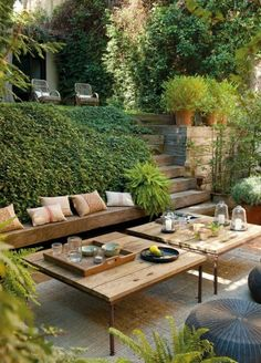 Garden Design Backyard backyard ideas, awesome ideas to create your unique backyard landscaping diy inexpensive on a budget patio - Small backyard ideas for small yards Backyard Ideas For Small Yards, Small Backyard Landscaping, Landscaping Design, Modern Backyard, Patio Ideas, Large Backyard, Pergola Ideas, Porch Ideas, Pergola Kits