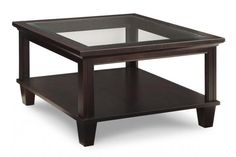 Georgetown Coffee Table with Glass Top | MYHome Furniture