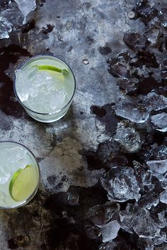 A reinvented margarita from @bakersroyale