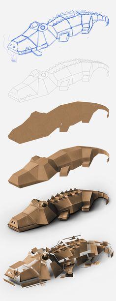krokodil tier maske fasching karneval kost m papier pinterest krokodile karneval und. Black Bedroom Furniture Sets. Home Design Ideas