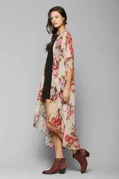 Band Of Gypsies Angel Kimono Duster Jacket #urbanoutfitters